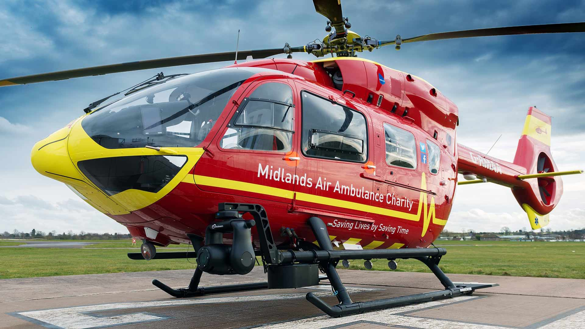 Midlands Air Ambulance nominated for the happiest workplace in the UK award