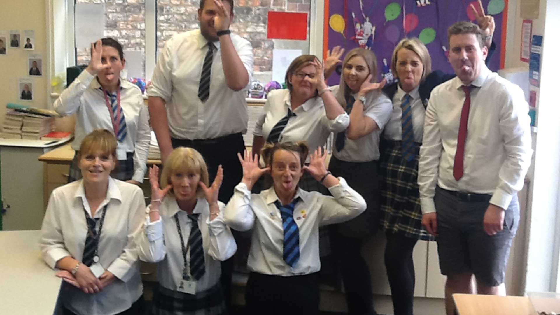 Wolviston Primary School, in Billingham, nominated for the happiest school in the UK award.