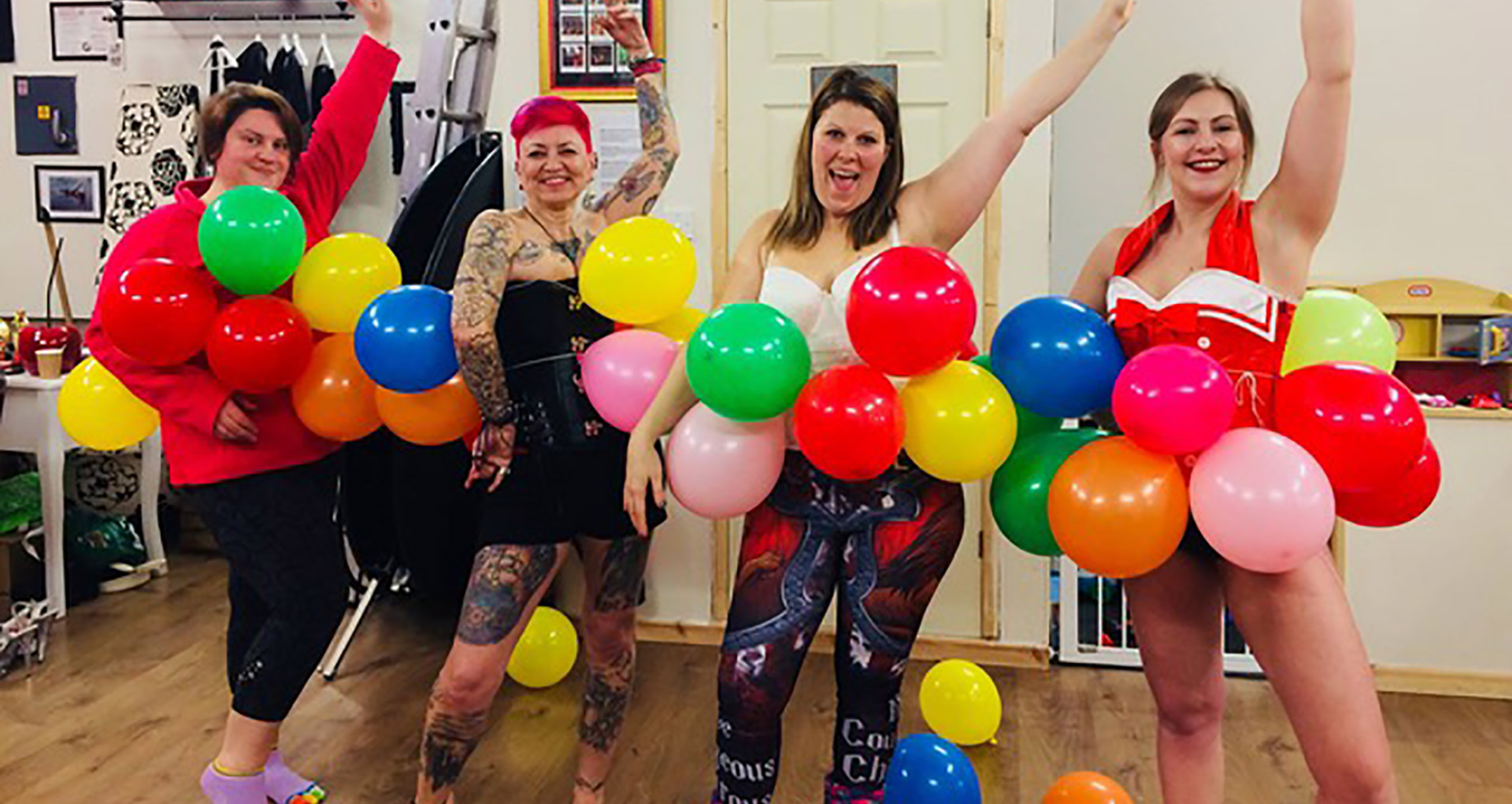 Ross-on-Wye dance studio, Mizz Twisted Cherry, and owner Natalie Morgan-Dew, nominated for a National Happiness Award 2018