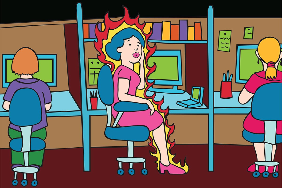 The M word: Let's talk menopause in the workplace