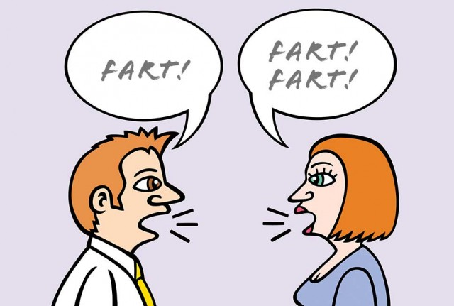 ...'opinions are like farts, everyone else's stinks'