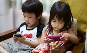 Young imaginations becoming stunted as a result of the increased access to technology. Imagine that?