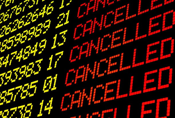 Can a sense of humour help you  cope with stressful situations like a cancelled flight?