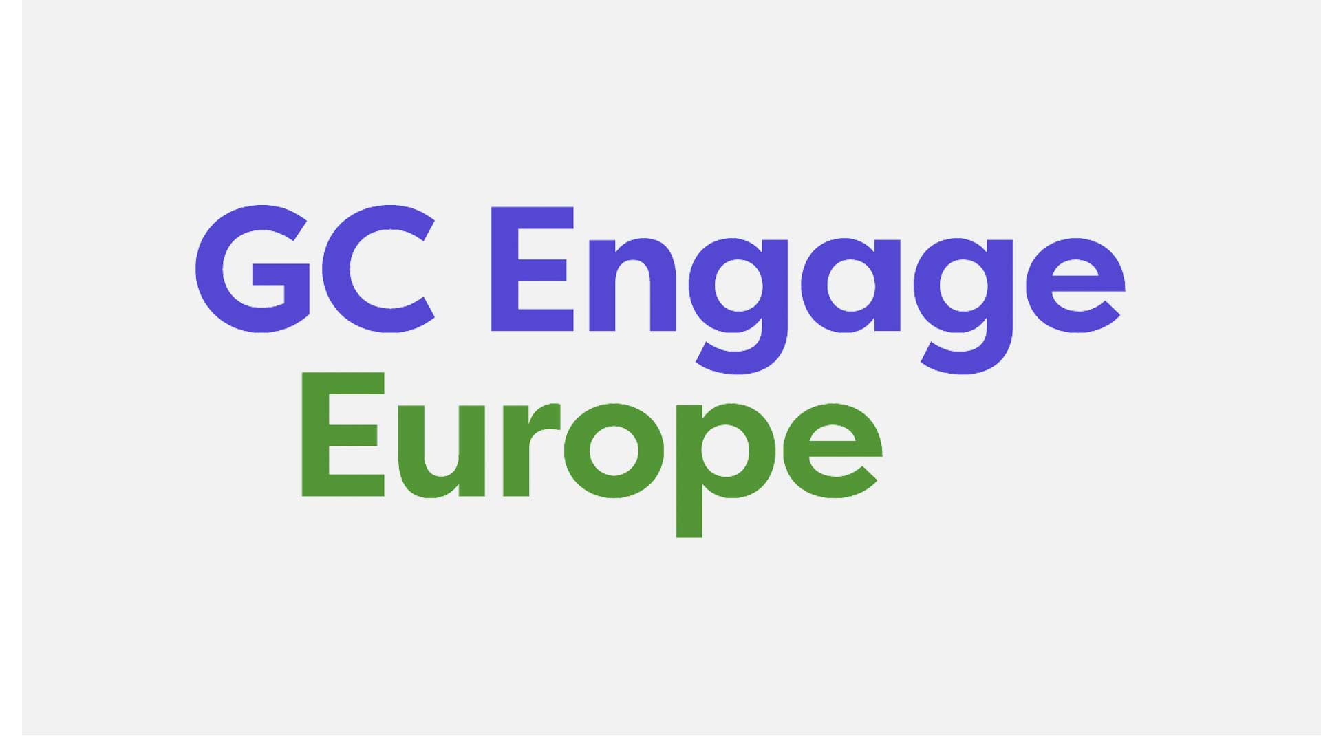 Mental health and culture change at GC Engage Europe