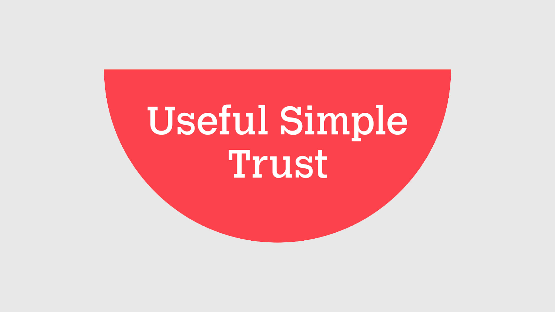 Presentation Skills with The Useful Simple Trust