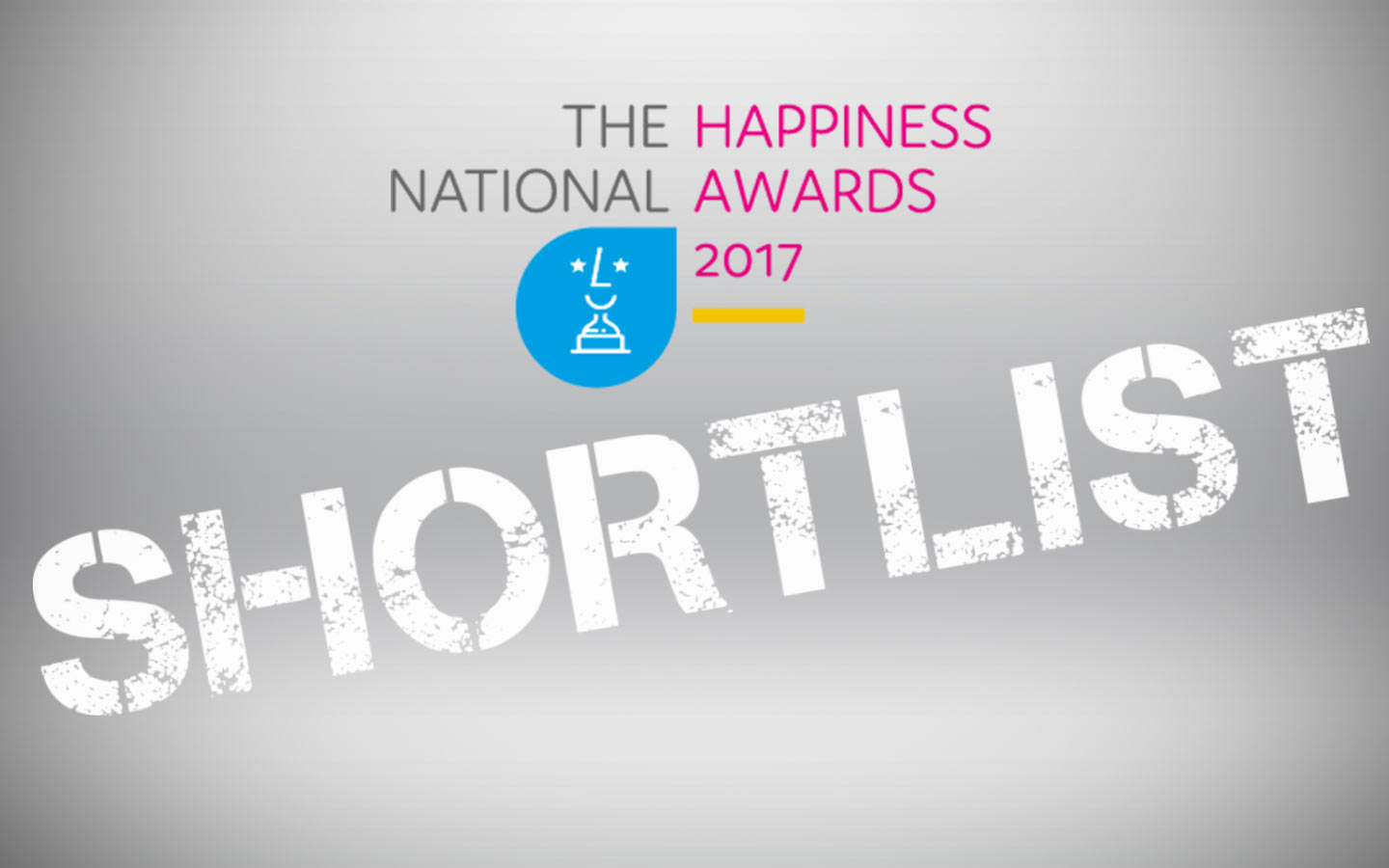 National Happiness Awards 2017 finalist shortlist