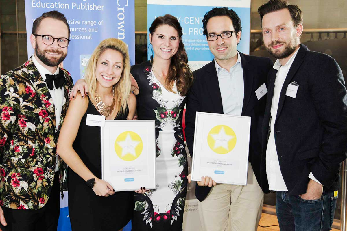 giffgaff and Edelman receive joint third in the Happiest Business category successfully beating 100s of nominees